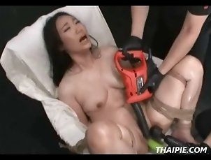 Asian;BDSM;Sex Toys;Pussy;Domination;Submission;Rough;Slave;Male Dom;Orgasm;Extreme;Machines;Power Tools;Thai Pie;HARDCORE PUNISHMENTS Asian Made To Cum...