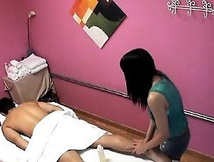 Asian,Brunette,Fingering,Handjob,Massage,Milf Massage therapist...