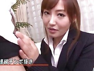 Asian;Blowjobs;Handjobs;Japanese;Boss;Office;Jav HD Mami Asakura...