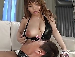 Hot milf breastfeeds man