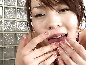 Blowjobs;Foot Fetish;Big Boobs;Brunettes;Facials;Hairy;Tits;Japanese;HD Videos Busty slut uses...