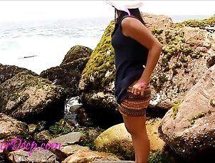 Amateur;Asian;Outdoor 19 Heather Deep...