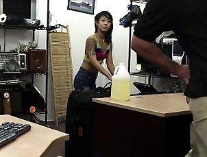 Asian masseur offers great massage