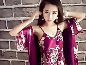 Asian;HD Videos;Satin Girl with satin