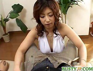 Asian;Big Boobs;Blowjobs;Japanese;MILFs;Tit Job;Big Tits;Big Busty;Big Tits Tokyo Busty Hazuki...