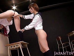 Fingering;Japanese;Lesbians;HD Videos;Tiny Tiny japanese les...
