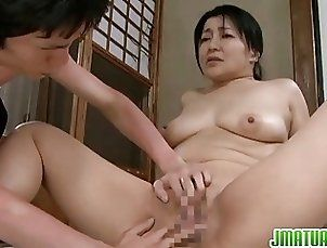 Mature gets some sex action with cum eating pleasures