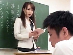 Asian,College,Handjob,Japanese,Uniform Cute Japanese...