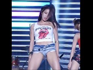 korean dancer shorts pussy