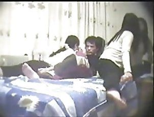 Amateur;Asian;Group Sex;Threesomes;Chinese;Home Made;Lucky Guy Threesome;Chinese Threesome;Amateur Threesome;Threesome chinese amateur...