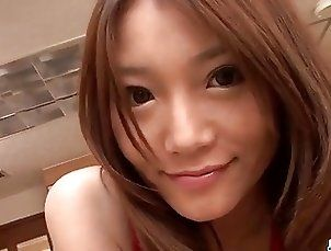 Serious pussy play along lingerie model Aoi Yuuki