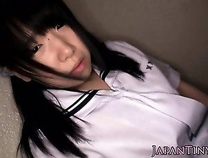 Asian,College,Fetish,Fingering,Hd,Japanese,Uniform Pigtailed petite...