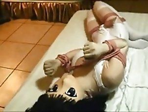 BDSM;Japanese;Orgasms;Made to Orgasm;Orgasm Kigurumi Tied and...
